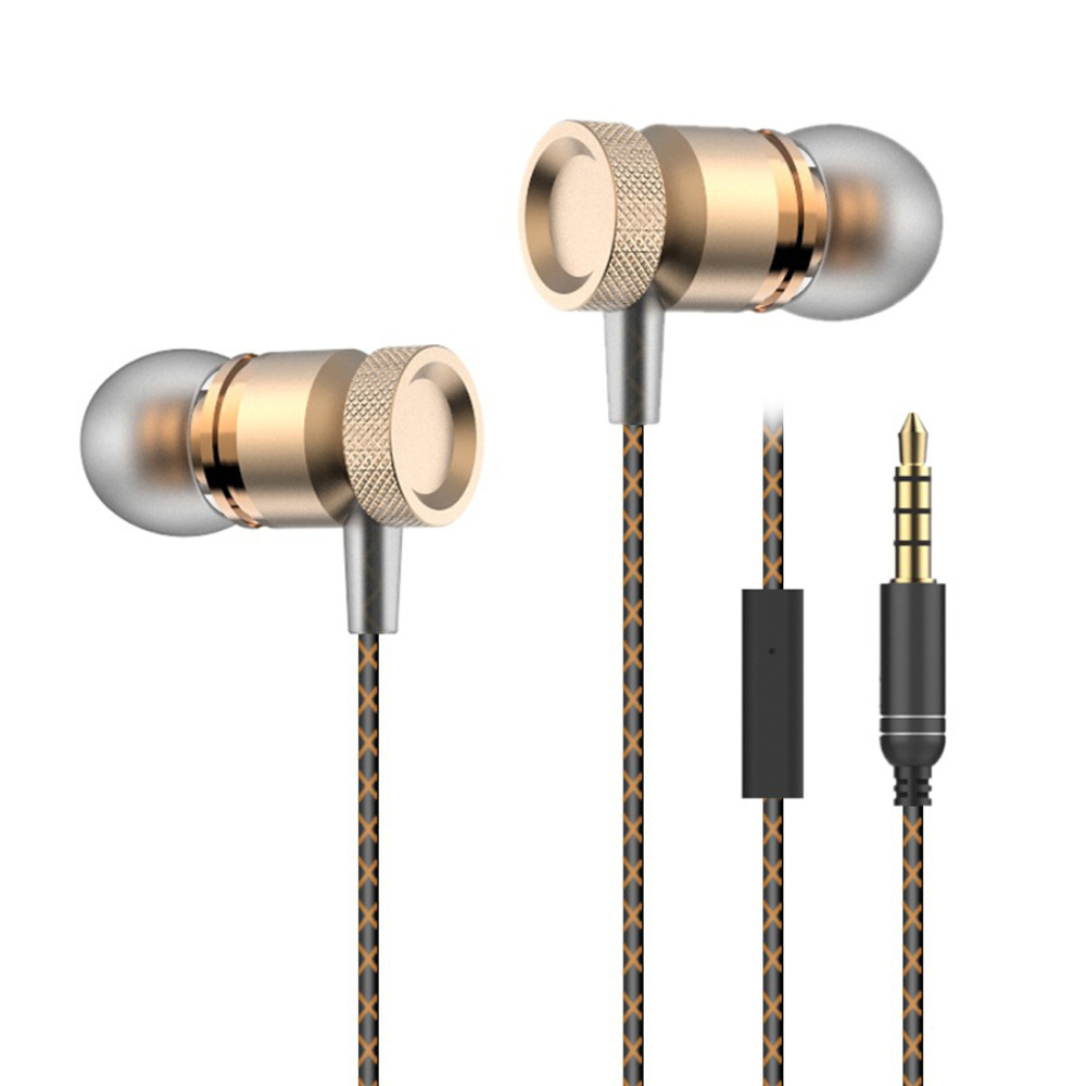 2016 HIFI Quality Sound Metal In Ear Earphone Earbud Subwoofer Sports Earphones Earbuds for all phone mp3 player(China (Mainland))
