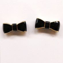 2015 Free shipping new bow earrings multicolor woman banquet dress with accessories gift