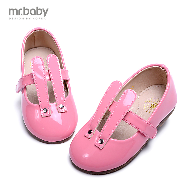 Mr.baby2015 Korean autumn new small ears girls shoes children shoes casual shoes(China (Mainland))