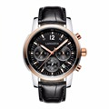 ALL SMALL DIAL WORK WATCH MEN QUARTZ WATCH MULTI FUNCTION WITH GENUINE LEATHER MENS SPORTS WATCHES