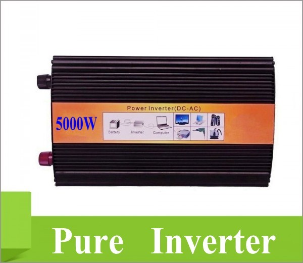 Inversor de seno pura 5000w DHL Or Fedex 5000W Pure Sine Wave Inverter 10000W Peak <br><br>Aliexpress