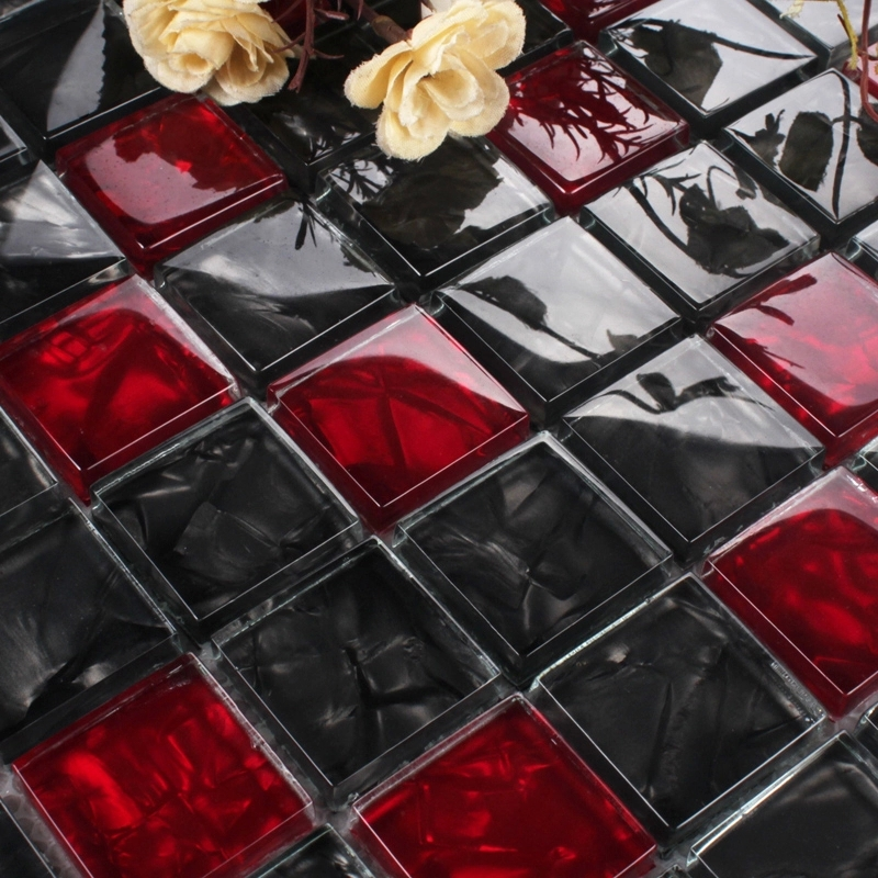 Red Glass Tile Backsplash - Compra lotes baratos de Red Glass Tile ...