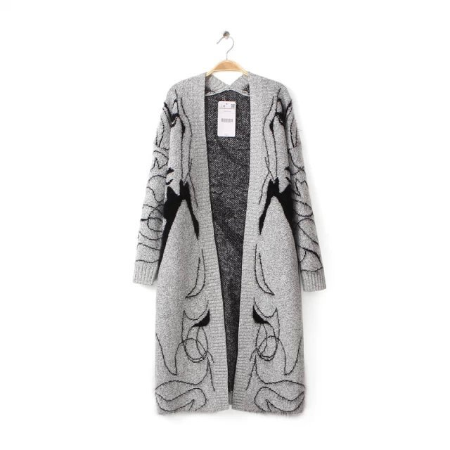 E1103X1 Women's fall Long sleeve Rabbit Knitting sweaters Only one of each size August 24th Close High quality(China (Mainland))