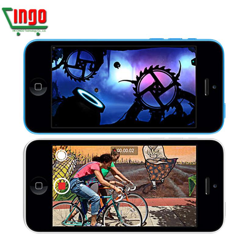 "iPhone 5C 100% Factory Original Unlocked Apple iphone 5c Cell phone 4.0"" Dual Core WCDMA IOS Multi-Language16GB/32GB(China (Mainland))"