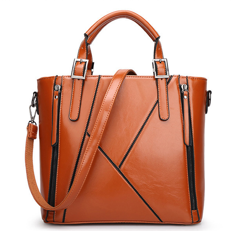 2015 New 100% Genuine Leather women messenger bags Women Vintage Tote Cow Fashion top quality Shoulder  Bag AW-DW01<br><br>Aliexpress