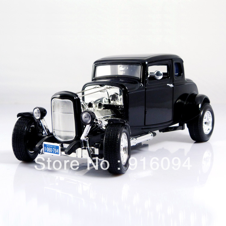 FORD hot rod ford hot rod black alloy car models(China (Mainland))