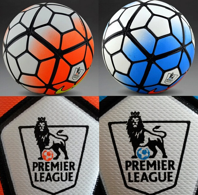 High quality 15-16 New The 10th premier league Soccer ball football PU size 5 anti-slip ball Top Sale Free Shipping(China (Mainland))