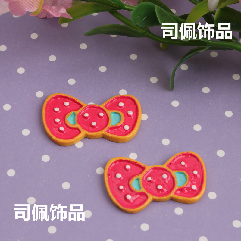 19*32mm Big Kawaii Bow Cabochons 10pcs(China (Mainland))