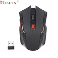 Good Sale High Quaility 2 4Ghz Mini portable Wireless Optical Gaming Mouse For PC Laptop Black