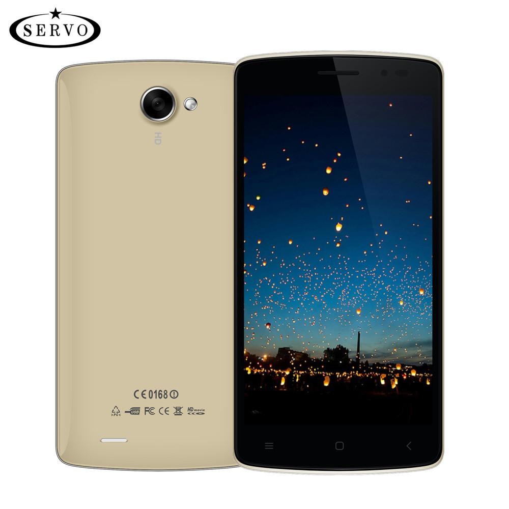 "Original SERVO Mobile Phone Android 5.1 IPS 5.0"" ROM 8G Quad Core 1.3GHz 5.0MP GPS GSM WCDMA Unlocked Smartphone Celular vowney(China (Mainland))"