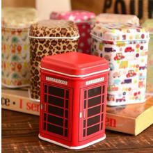 New Arrival Cover Metal Iron Sundries Lovely Small Tin Peninsula Tea Candy Box Cartoon Toothpick(China (Mainland))
