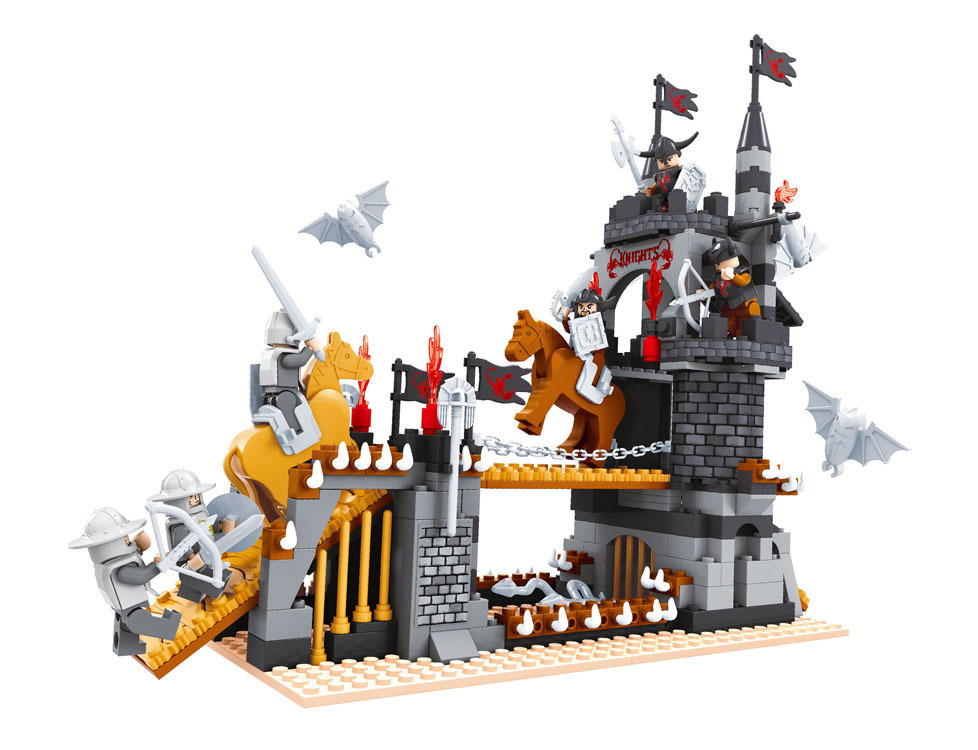 Building Toys From The 90s : Building block sets compatible with lego medieval castle