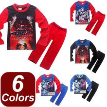 2016 New Arrival Star Wars Children Boys Pajamas pijamas Kids Pyjamas Sets Clothing 4-12T