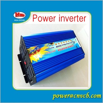 free shipping! 2000W Off Pure Sine Wave Power Inverter, 4000w Peak power inverter, Solar&Wind Inverter