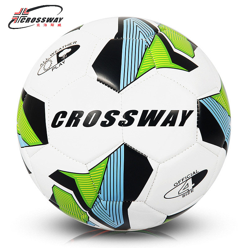 CROSSWAY Brand Soccer Ball Football Ball Size 4 Official Anti-slip PU Slip-Resistant Standard Match Training Champions Football(China (Mainland))