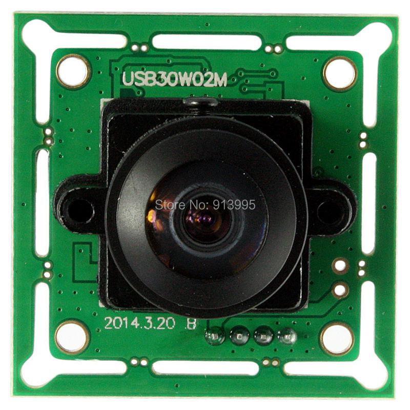 High speed usb 2.0 CMOS OV7725 vga usb Camera Module Wide Angle 170degree fisheye lens webcam