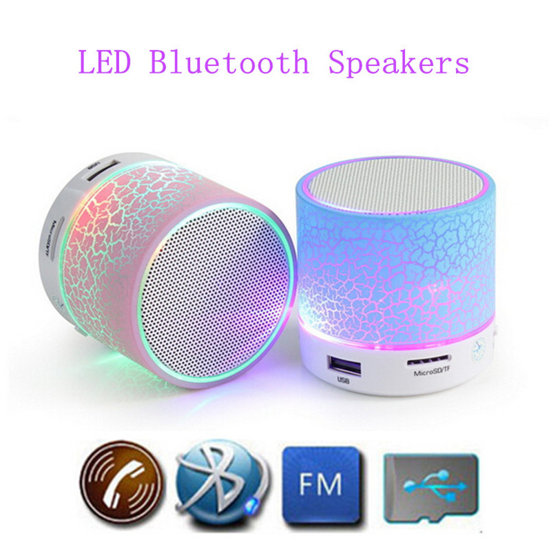 Wireless Bluetooth Speaker A9 Hands-free Call Colorful Touch LED Light Lamp With TF Card Music Player Smart Speakers Subwoofer(China (Mainland))