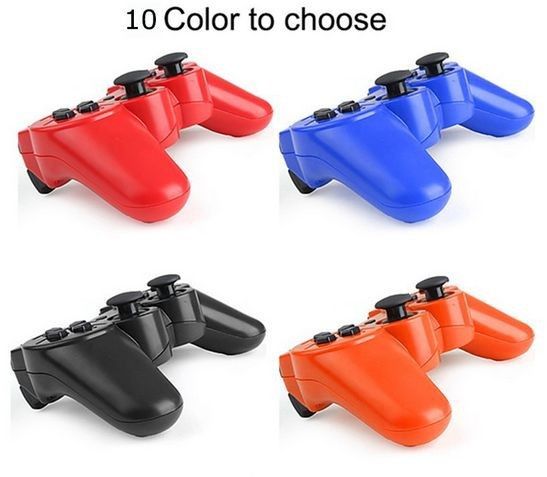 2pcs Top Quality Wireless Bluetooth Game Controller SIXAXIS Joysticks Gamepads Controller For Sony PS3 Playstation 3 PS3 Slim