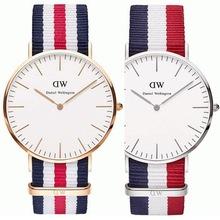 DW 2015 Daniel Wellington s top luxury brand Fashion watches men look at women quartz watch