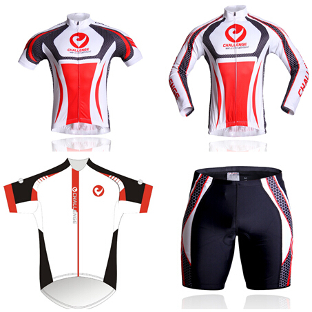 2015 new Challenge a kind of cycling short jersey,bicycle\cycling Mountain jersey for summer bib short with 3D pad or long(China (Mainland))