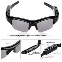 Mini HD Cam Sun Glasses Eyewear Digital Video Recorder Glass Camera Mini Camcorder Video Sunglasses(China (Mainland))