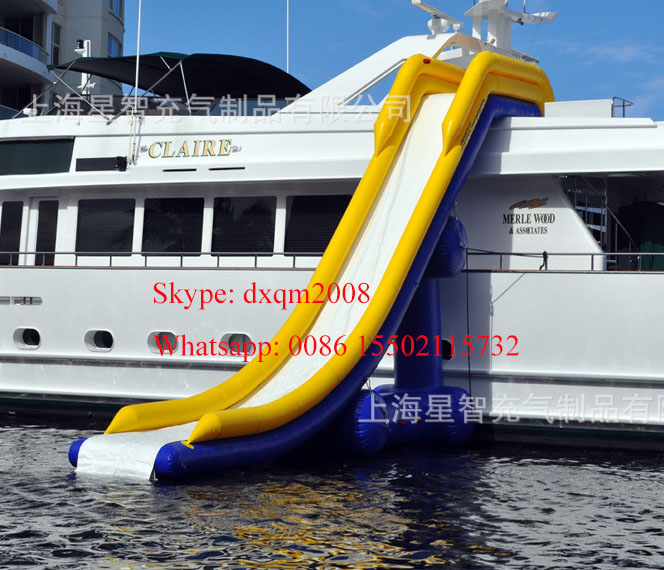 2016 factory customized gaint inflatable water slide,inflatable water park slide for adults and kids(China (Mainland))