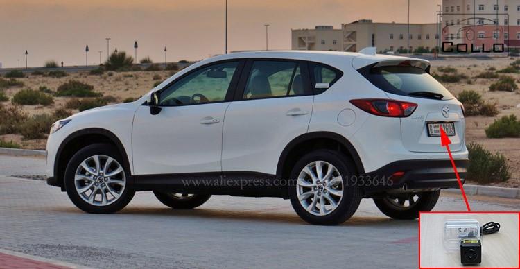 Купить Новые предотвращения столкновений сзади - класса автомобилей лазерный противотуманная фара для Mazda CX-5 CX 5 CX5 2012 ~ 2015 / 12 В автоаксессуары тормоз габаритные огни