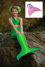 Personalised Birthday Gifts Ideas Best Kids Swimmable Mermaid Tails Swimsuit Swimming Costumes with Monofin Cheap Price for Sale