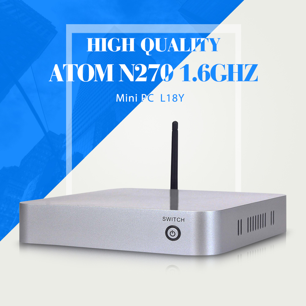 XCY L-18Y N270 barebne mini pc low heat thin client OEM thin client support wireless and Microphone(China (Mainland))