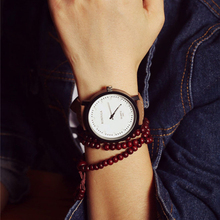 HOT New Design Fashion Watch Steel Case Men women Leather Quartz analog wrist Watch lady dress