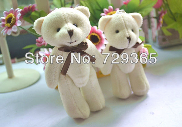 Free shipping Wedding Favors Candy Box Sweet Bag Gift Little Bear candy box with flowers in various colors()