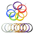 10pcs PLA 3D Print Filament 1 75mm 10M Different Colors For 3D Printer or Pen filament