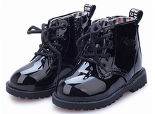 Children Shoes Martin Boots For Girls Boys Candy Color PU Leather Botas Children s Toddler Boots