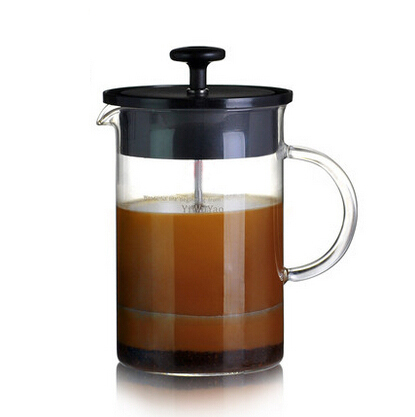 French Coffee Maker Similar Aeropress Espresso Maker French Presses Glass Material with Stainless Steel Filter 400ml 600ml(China (Mainland))