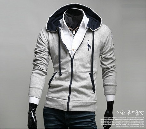 2015 new brand sweatshirt moleton masculino hoodies men sudaderas hombre tracksuit men zipper assassins creed slim hoodie(China (Mainland))