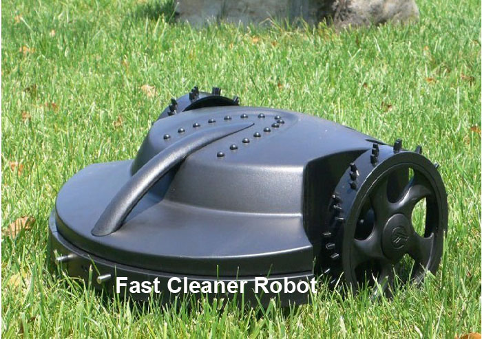 The Cheapest Automatic Robot Lawn Mower 158 with Lead-acid Battery(Auto recharge,Remote Control,rain sensor,waterproof,CE&ROSH)(China (Mainland))