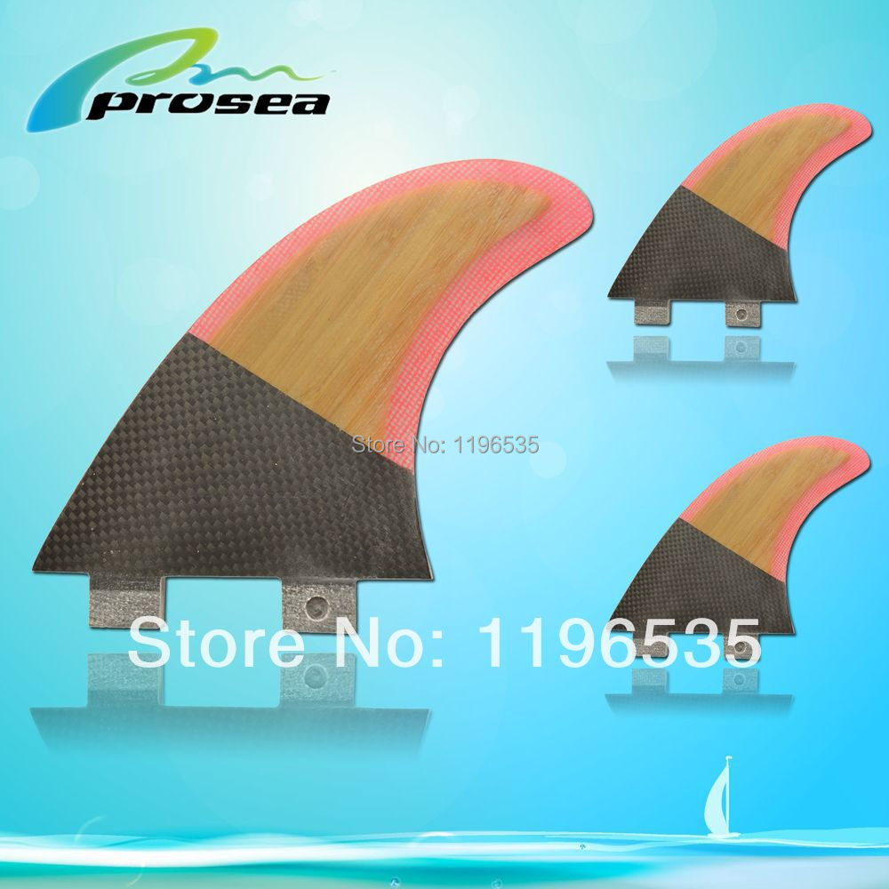 Bamboo Honeycomb surf fin Tri G5 set for SUP, surfboard, stand up paddle board accessories(China (Mainland))