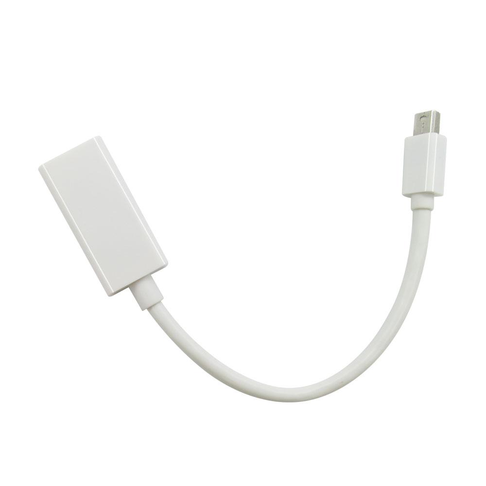 Mini DisplayPort Display Port dp к HDMI Кабель-Адаптер Для Apple Mac Macbook Pro Воздуха Высокого Качества high quality thunderbolt mini displayport display port dp to hdmi adapter cable for apple mac macbook pro air