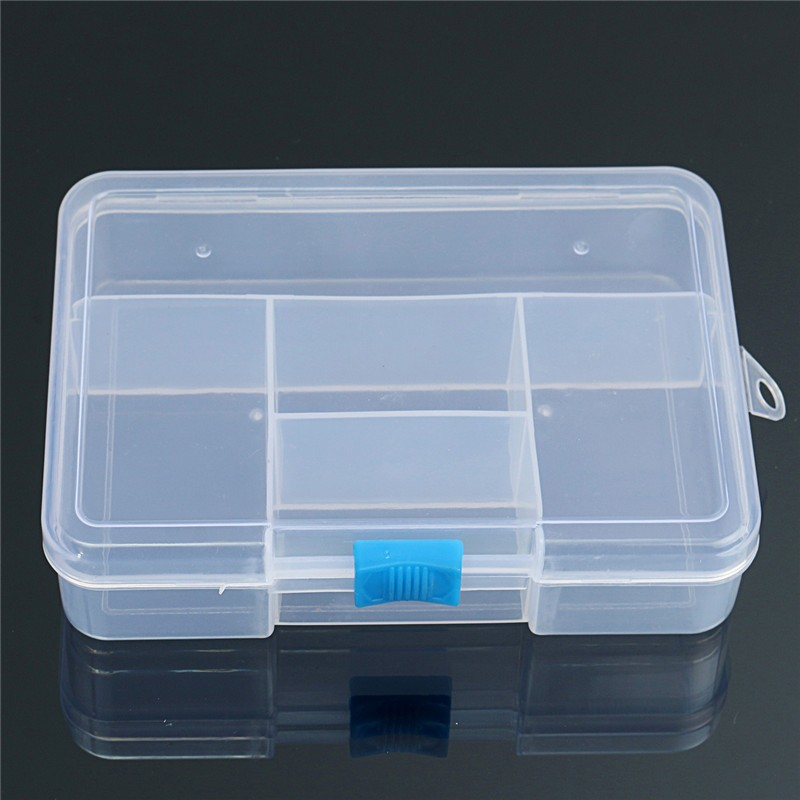 small storage box with compartments 2