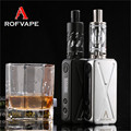 Rofvape A Box Mini Box mod Vape Pen Electronic Cigarette kit 7 50W OLED Indicator 8