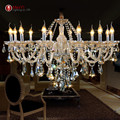 New Luxury Chandeliers and pending K9 Crystal Chandelier Lighting Lamp 12 Lights Hotle Hall lighting and