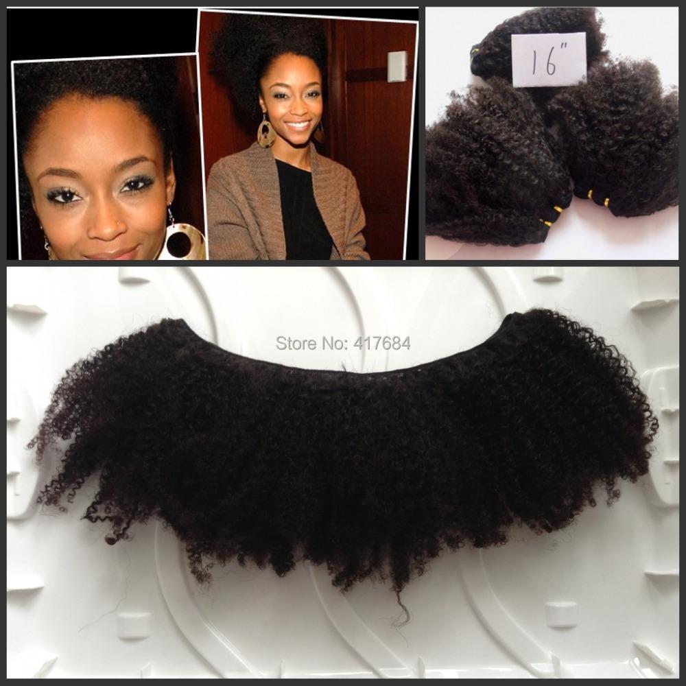 Гаджет  Virgin Human hair weave brazilian virgin hair free shipping,afro kinky curly hair 4b/4c None Волосы и аксессуары