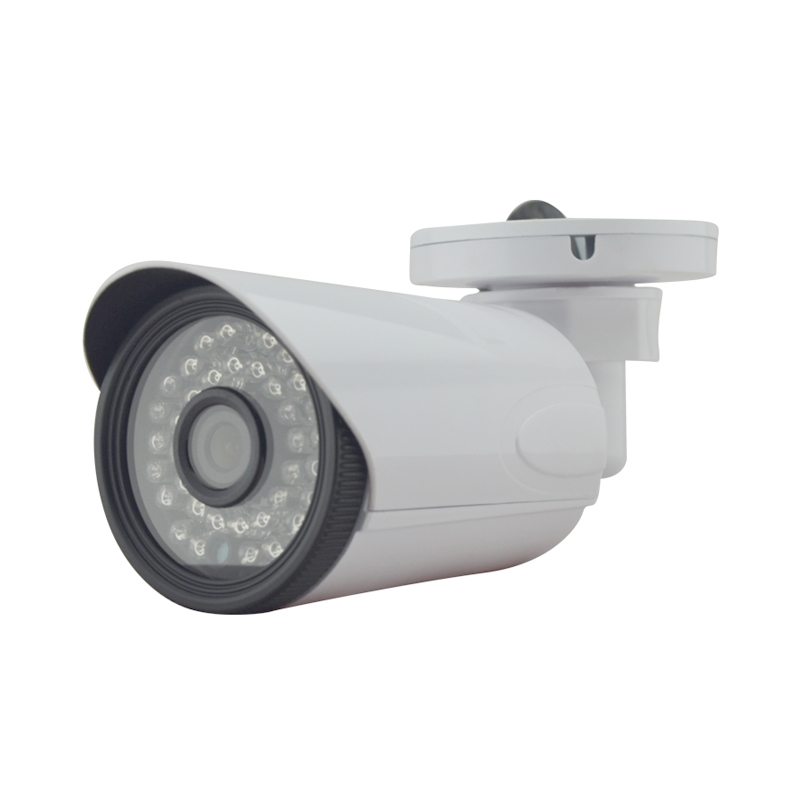 Фотография HD 960P 1.3MP IP Camera White matal Waterproof Bullet Camera security outdoor 64g sd 36IR Night Vision