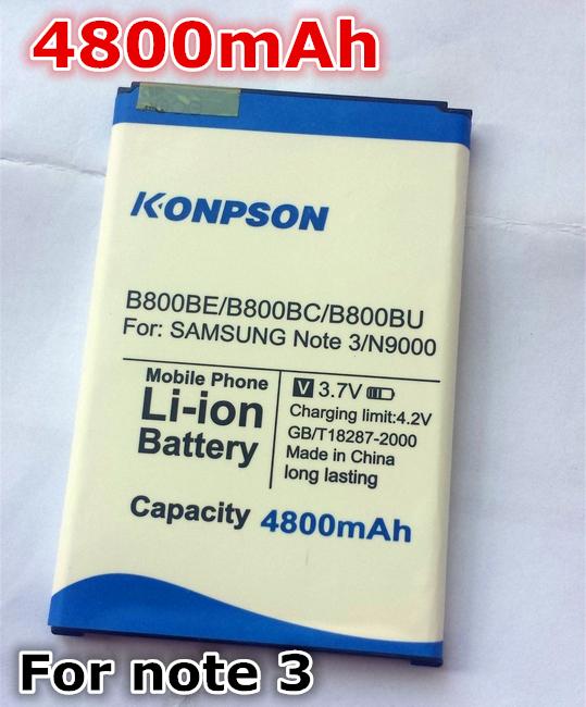 Brand new Business battery 4800mAh For Samsung Galaxy Note 3 III N9000 N9005 N900A N900 N9002 B800BE battery Global Freeshipping(China (Mainland))