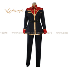 Kisstyle Fashion Mobile Suit Zeta Gundam Sarah Zabiarov Uniform COS Clothing Cosplay Costume,Customized Accepted