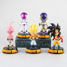 Mifen Craft 15CM Anime Figurine Dragon Ball Z Super Saiyan Frieza/The Monkey King/Gotenks/Buu PVC Action Figure Collectible Toy