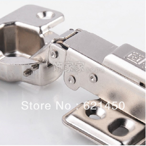 Cabinet Door Hinges Damping Stainless Steel Hinge Hydraulic Buffer Full Overlay/ Half-overlay Furniture Hinges
