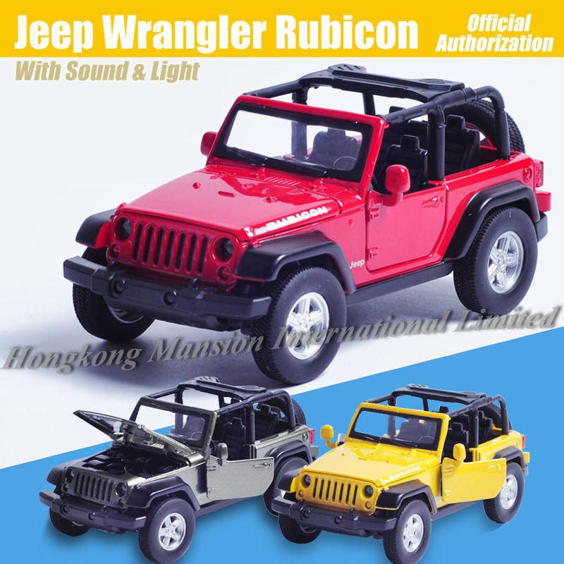 1:32 Scale Diecast Alloy Metal Luxury SUV Car Model For Jeep Wrangler Rubicon Collection Off-road Vehicle Model Toys Car(China (Mainland))