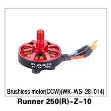 CCW Brushless Motor (WK-WS-28-014) Runner 250(R)-Z-10 for Walkera Runner 250 Advance GPS RC Drone Quadcopter Original Parts