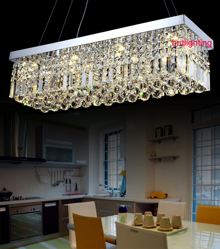 modern crystal chandeliers for dining room contemporary crystal